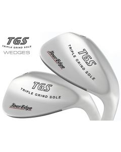 Tour Edge TGS Triple Grind Sole Wedge - Steel